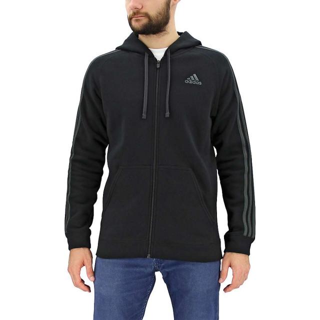 Adidas - Men's Essential Cotton Fleece Full Zip Hoody