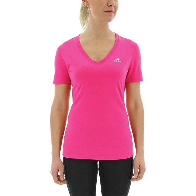 Adidas - Women's Ultimate SS V-Neck Top