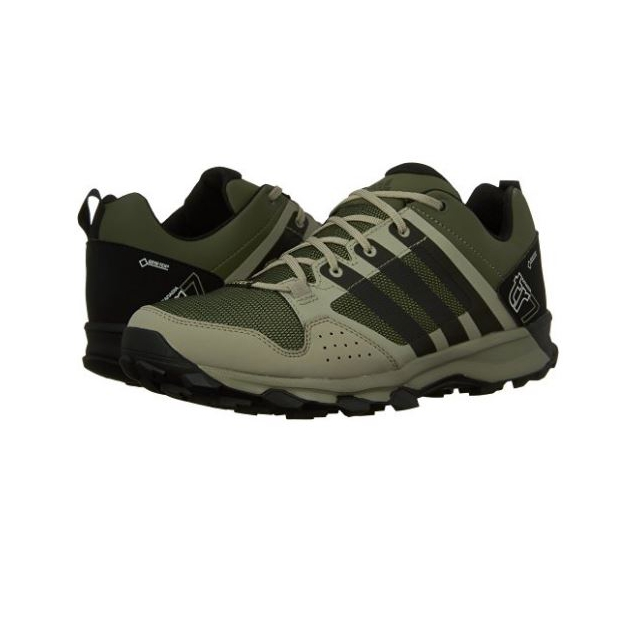 Adidas - - Kanadia 7 Trail GTX M - 13 - Base Green/Black/Tech Beige
