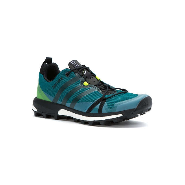 Adidas - - Terrex Agravic Mens - 12 - Eqt Green/Black/Semi Solar