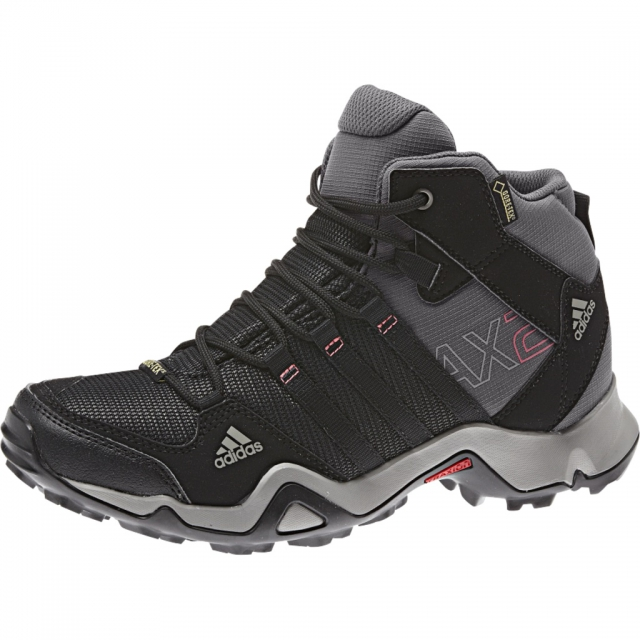 Adidas - AX2 Mid GTX Hiking Boot - Women's - Carbon/Black/Granite In Size: 9