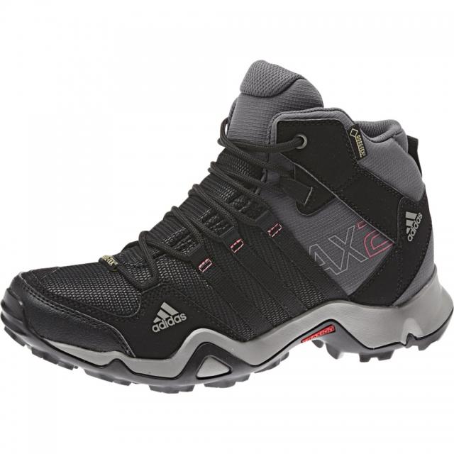 Adidas - - AX2 Mid GTX Wmns - 9 - Carbon/Black/Sharp Grey
