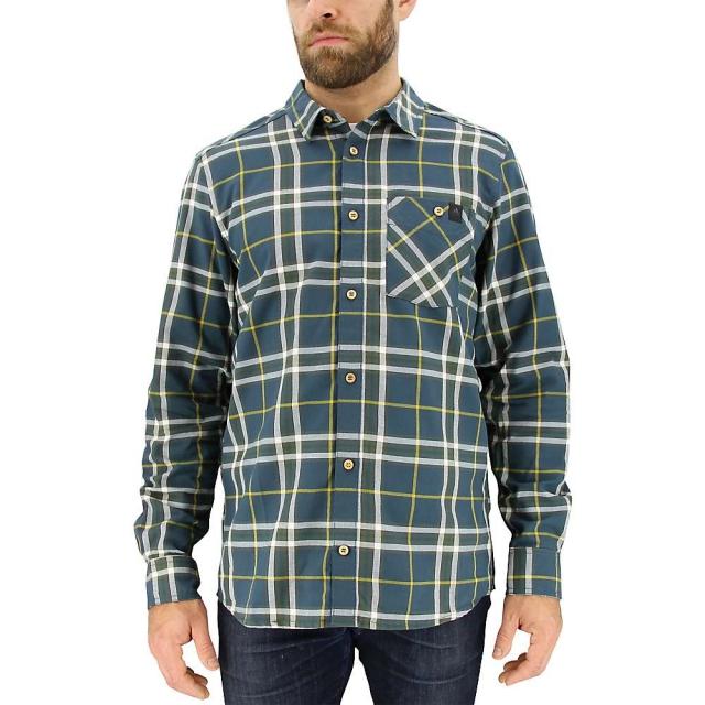 Adidas - Men's All Outdoor Checker Moss LS Shirt