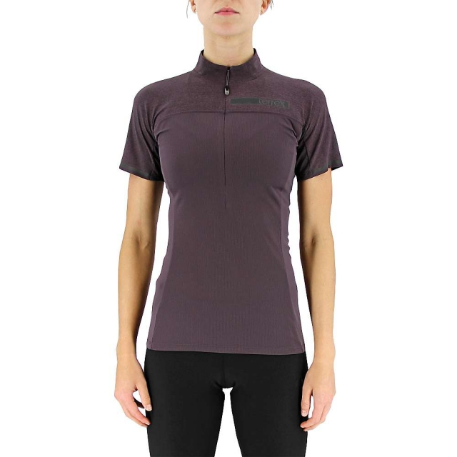 Adidas - Women's Terrex Climachill 1/2 Zip Tee