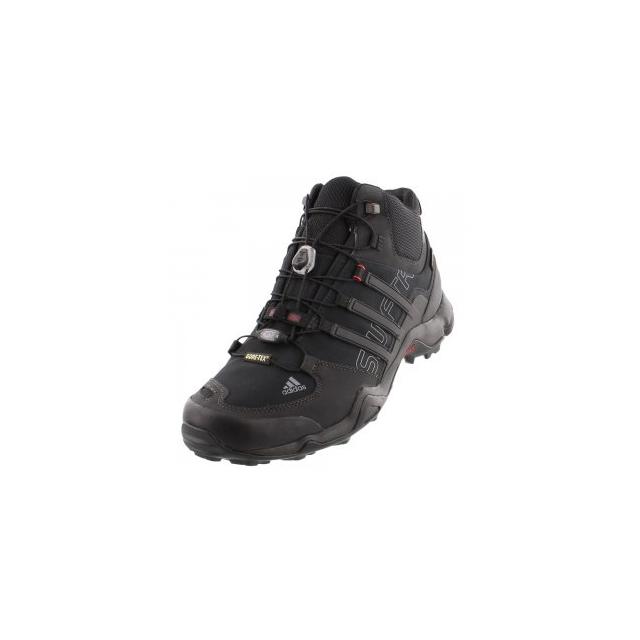 Adidas - Terrex Swift R Mid GORE-TEX Hiking Boot Men's, Black/Vista Grey, 10