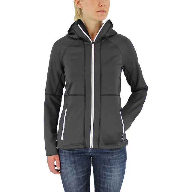 Adidas - Women's 1-Side Hooded Fleece Jacket