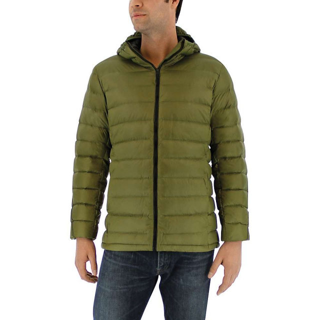 Adidas - Men's Light Down Hooded Jacket