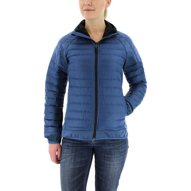 Adidas - Women's Hybrid Down Hooded Jacket