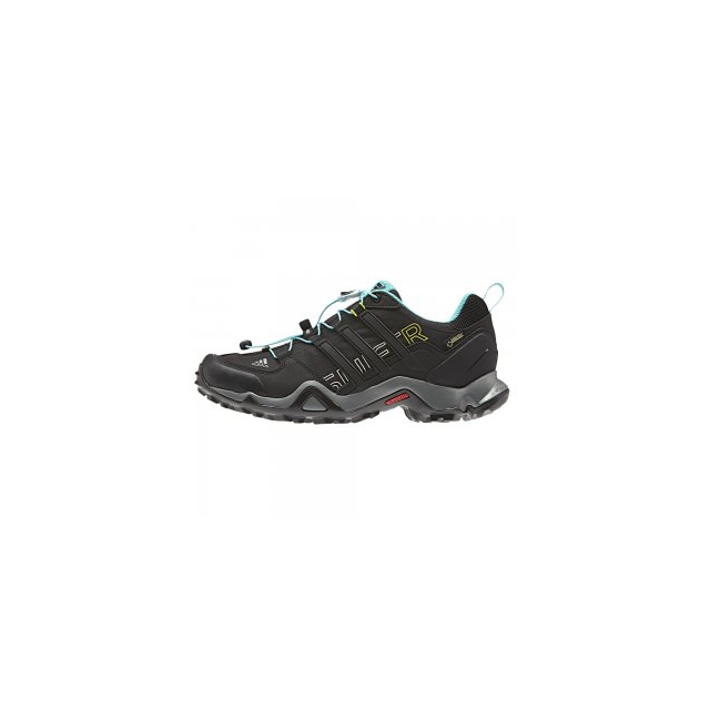 Adidas - Terrex Swift GORE-TEX Hiking Shoe Women's, Black/Vivid, 9.5