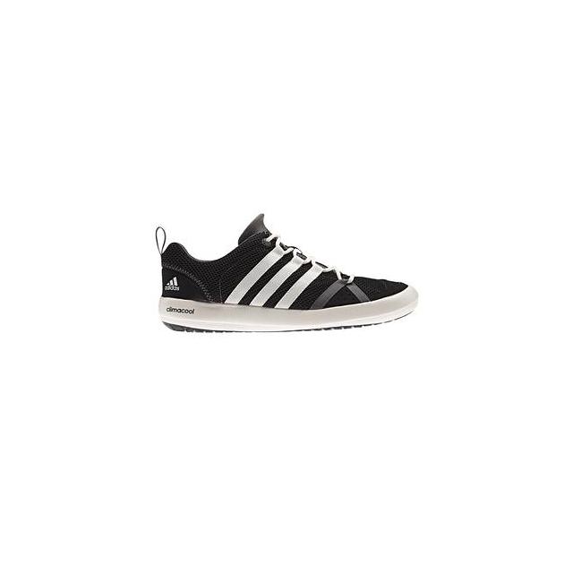 Adidas - Climacool Boat Lace Water Shoe Men's, Black/Chalk White/Silver Metallic, 10.5