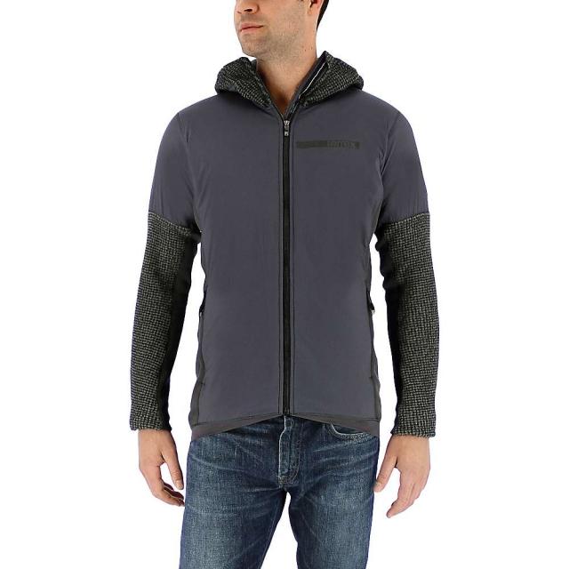 Adidas - Men's Terrex Climaheat Techrock Hooded Fleece Jacket