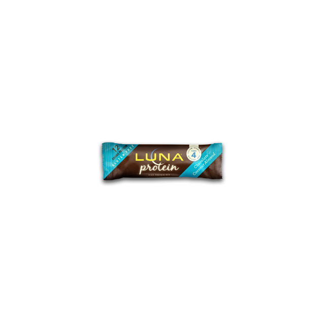 Clif Bar - f bar - luna protein  - Chocolate Coconut Almond