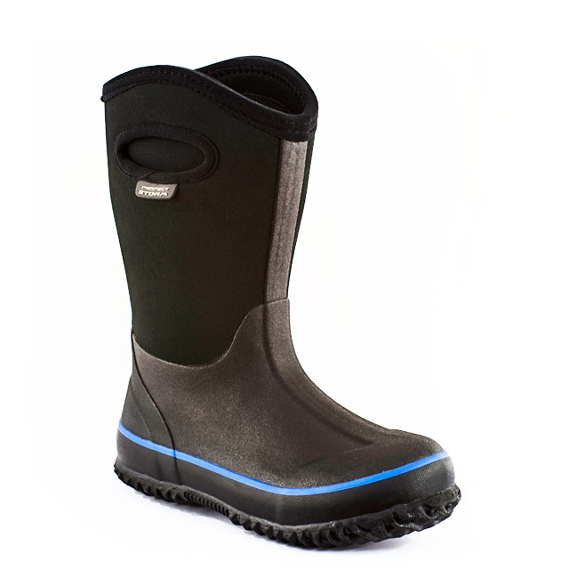 Perfect Storm Boot - - Cloud High Black Kids - 13 - Black/Blue