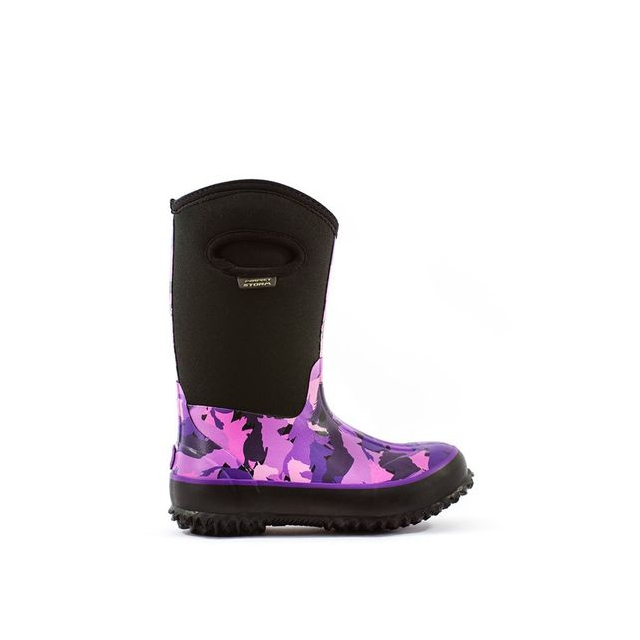 Perfect Storm Boot - Boot - Cloud High Stapede Kids - 13 - Black/Purple