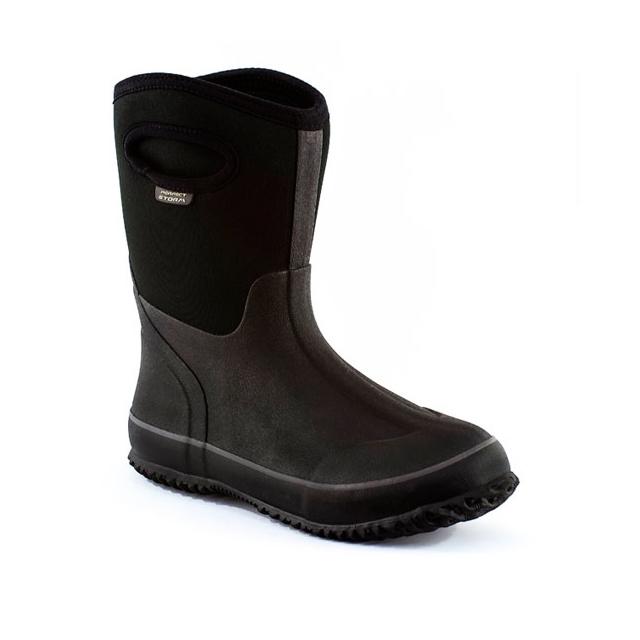 Perfect Storm Boot - - Cloud Mid W - 6 - Black
