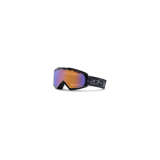Giro - Siren Ski Goggles Women's - Black Porcelain/Persimmon Boost