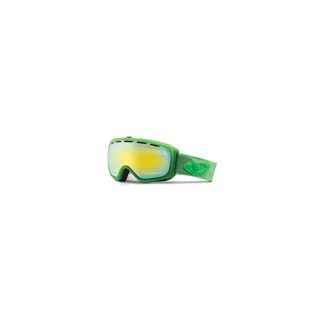 Giro - Basis Ski Goggle - Men's - Bright Green Saturate/Loden Yellow