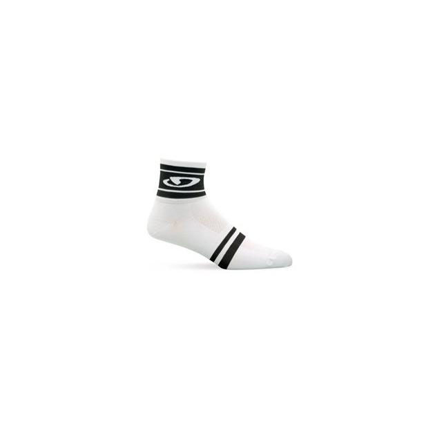 Giro - Classic Racer Sock - White/Black Modern In Size: Extra Large