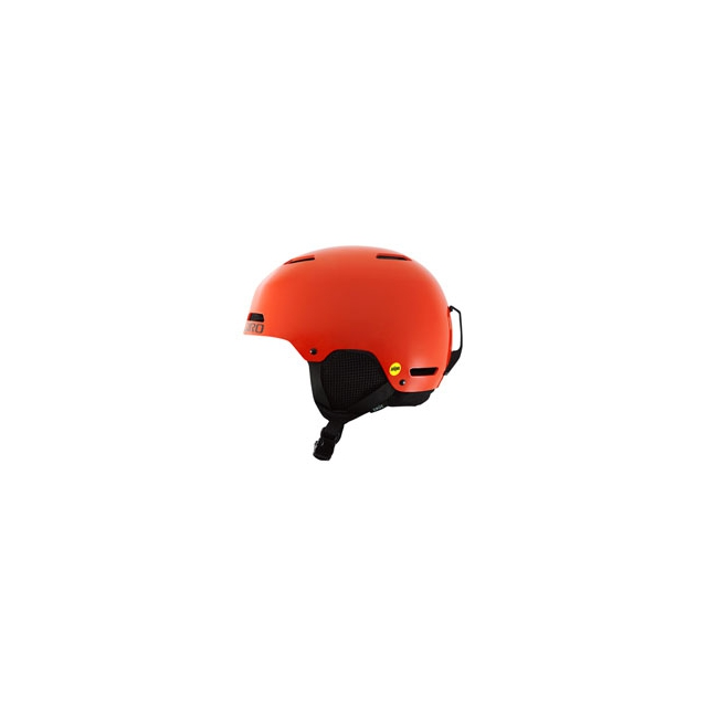 Giro - Crue MIPS Youth Ski Helmet - Glowing Red In Size: YXS