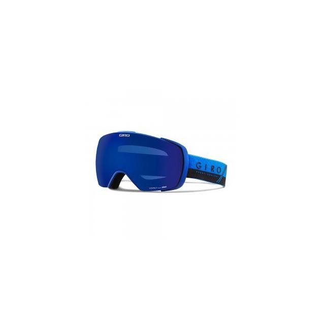 Giro - Contact Goggles Adults', Blue/Black Slash