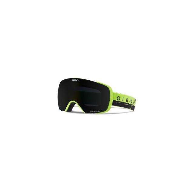 Giro - Contact Goggles Adults', Lime/Black Slash