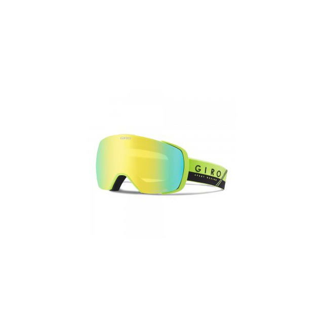 Giro - Contact Goggles Adults', Lime/Black Slash