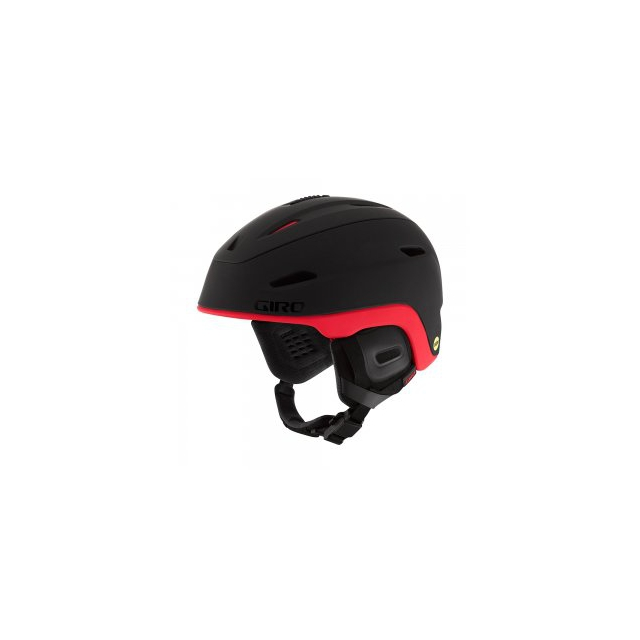Giro - Zone MIPS Helmet Adults', Matte Black/Bright Red, L
