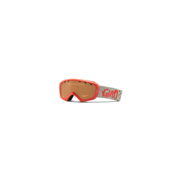 Giro - Chico Ski Goggle - Kid's - Red Glowing Camo/Amber Rose