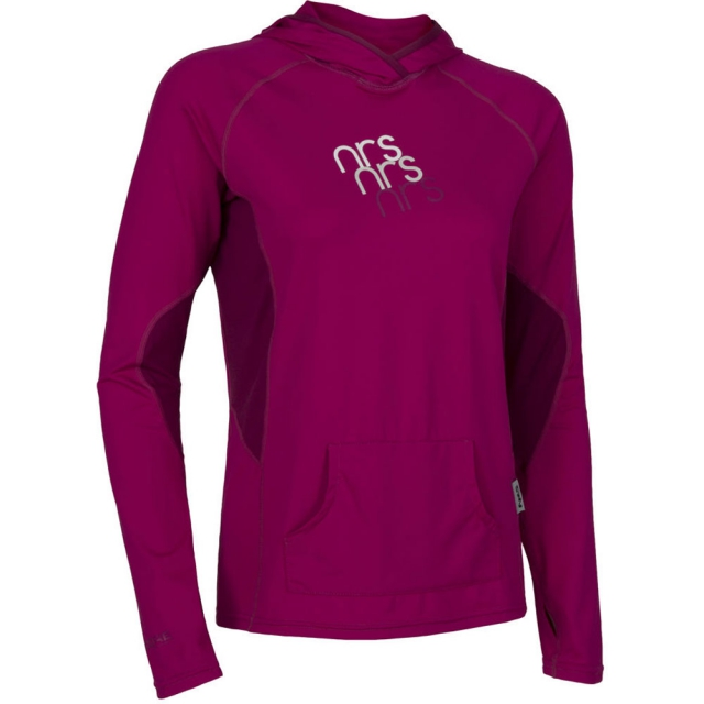 Seals - H2Core Silkweight Hoodie Womens - Purple Haze S