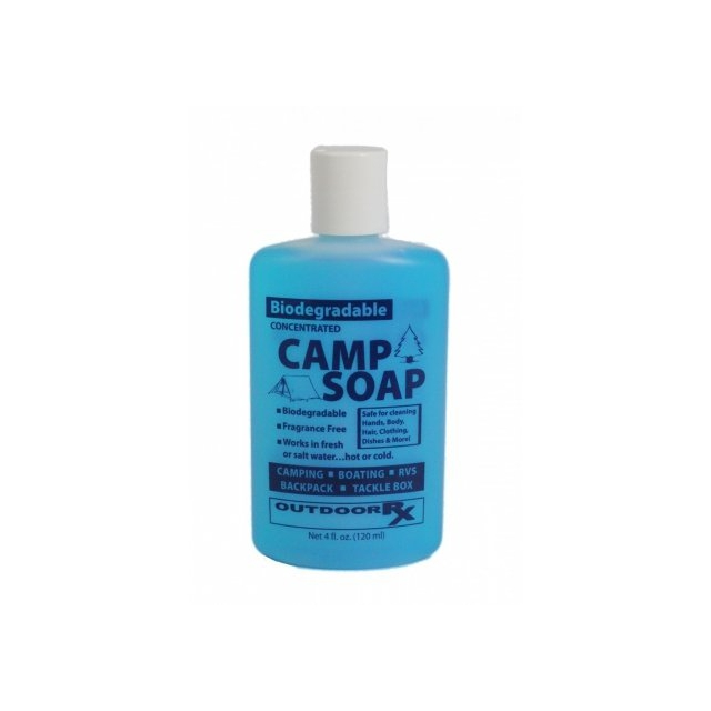 Outdoor Rx - Biodegradable Camp Soap 4 oz. Unscented