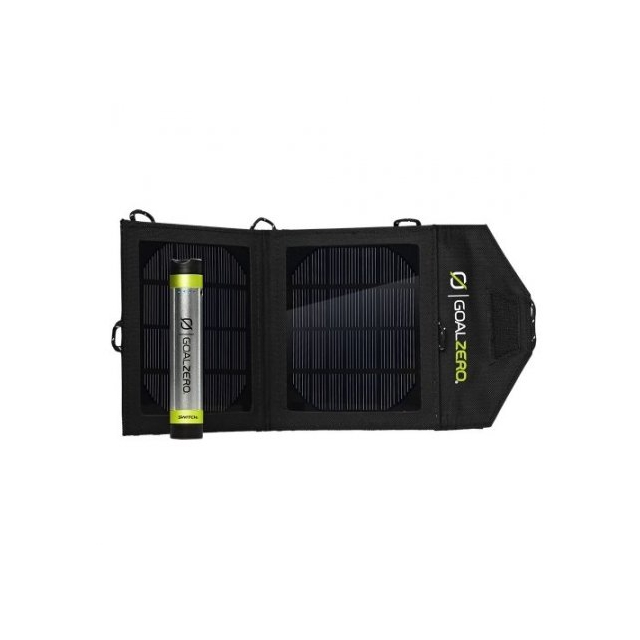 GoalZero - Switch 8 Solar Recharging Kit with Nomad 3.5