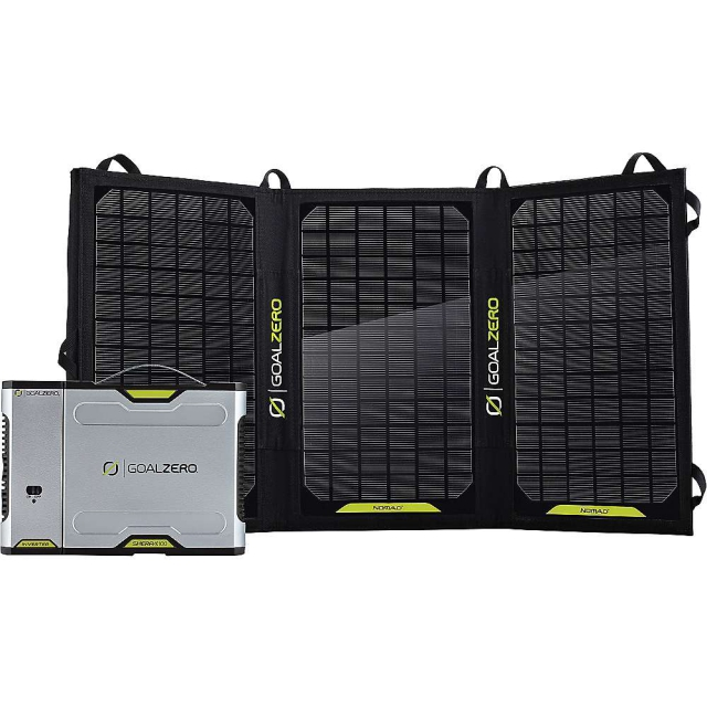 GoalZero - Sherpa 100 Solar Recharging Kit with Inverter