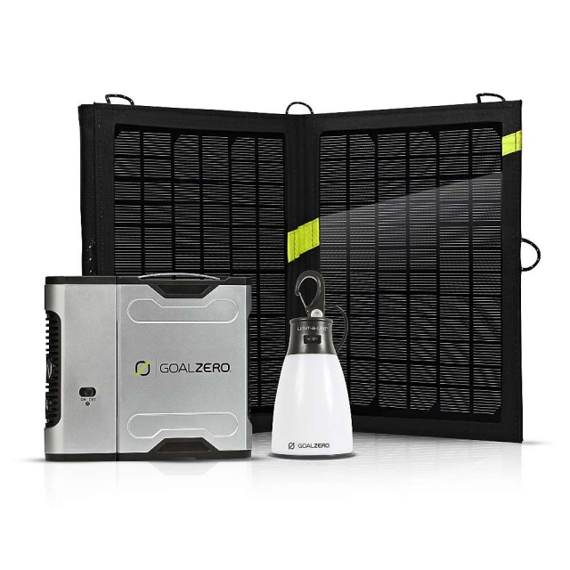 GoalZero - Sherpa 50 Solar Recharging Kit with Inverter