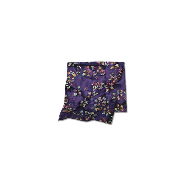 Carolina Manufacturing - Batik Print Bandana - Batik Purple