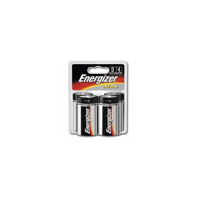 Eveready - Energizer Max D Batteries 4 pk