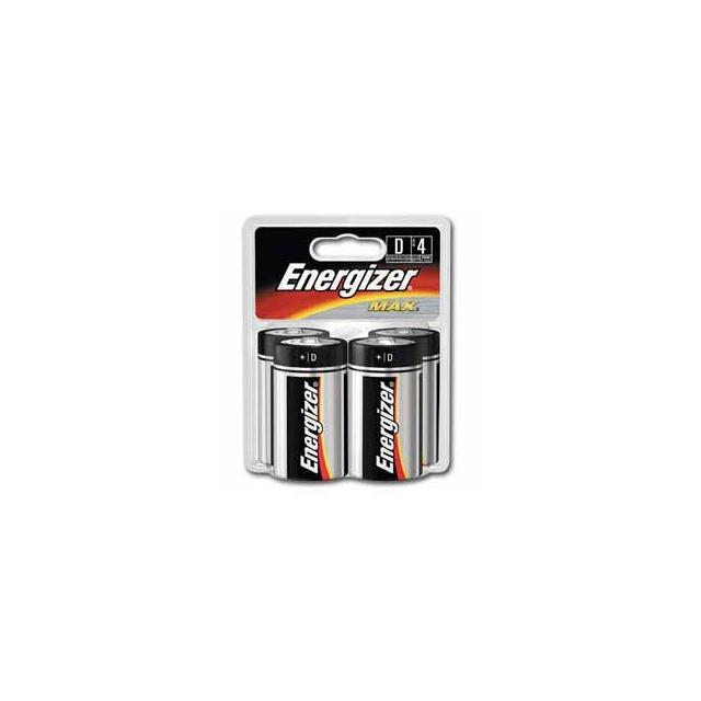 Eveready - Energizer Max D Batteries 4 pk