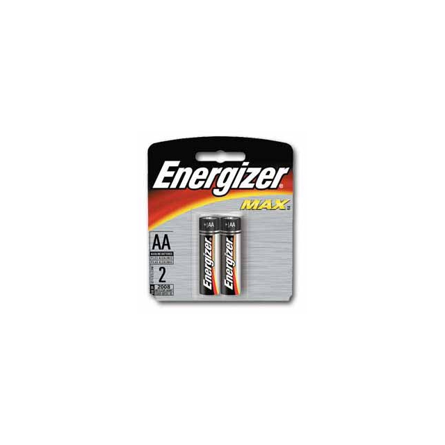 Eveready - Energizer Max AA Batteries 2 pk