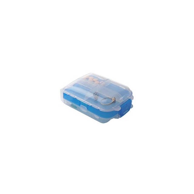 Talus - Tri-fold Pill and Storage Box - Blue