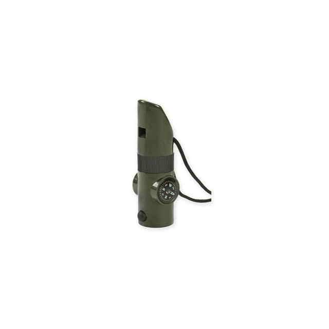 Proforce Equipment - 7 in 1 Survival Whistle - Olive