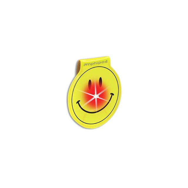 Amphipod - Vizlet Wearable Smiley Face LED Reflector Clip On