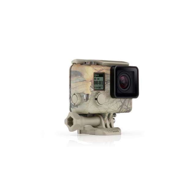 GoPro - Camo Housing + QuickClip (Realtree Xtra)