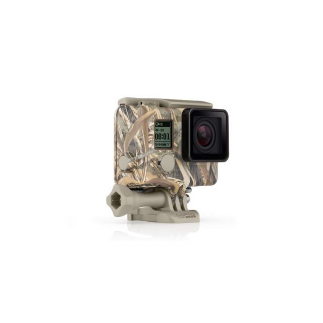 GoPro - Camo Housing + QuickClip (Realtree MAX-5)
