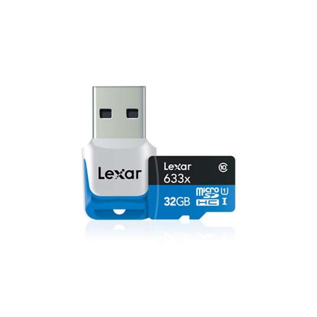 GoPro - Lexar 32GB microSDHC Memory Card