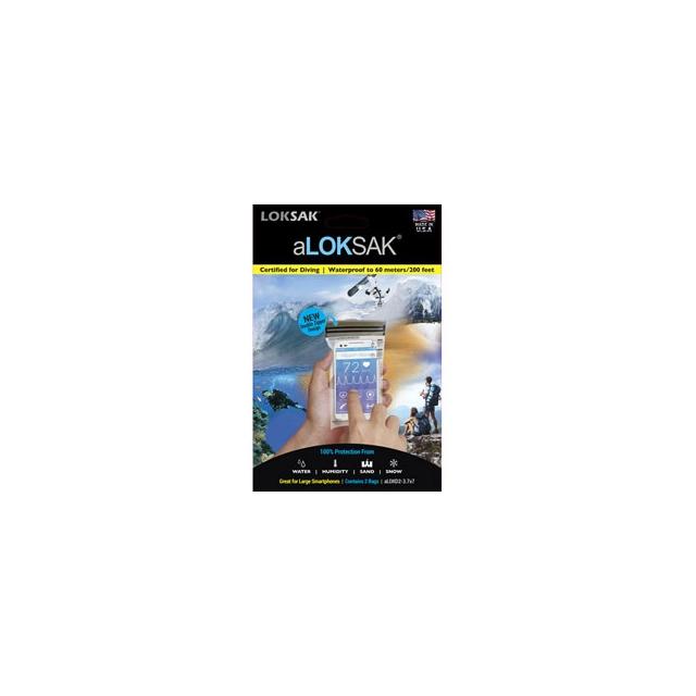 Loksak - Aloksak 3x7 inch Storage Bag (2pack) - Clear