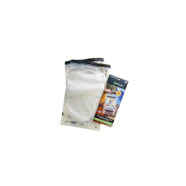 Loksak - Opsak 28x20 Inch Storage Bag (2 pack) - Clear