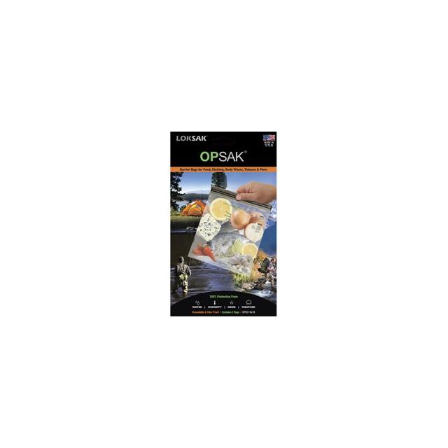 Loksak - Opsak 9x10 Inch Storage Bag(2 pack) - Clear