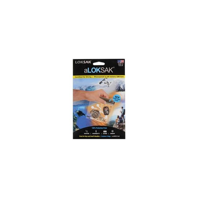 Loksak - Aloksak 5 x 4.75 Bag - Clear