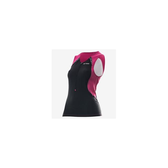 Orca - Core Tri Top - Women's - Black/Camellia In Size: Small