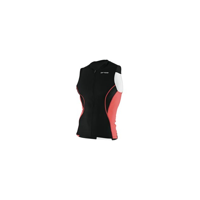 Orca - Core Tri Tank - Men's - Black/Fiery Red In Size: Medium