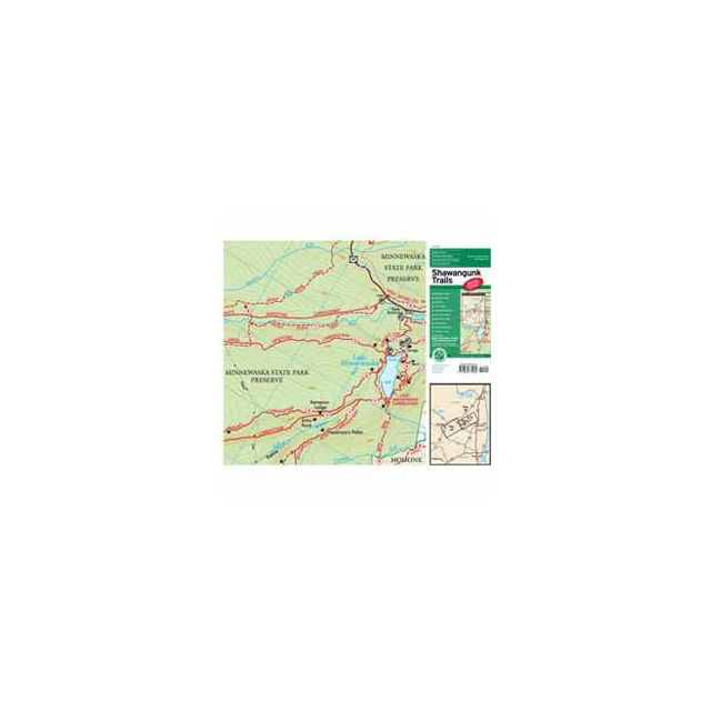 Ny Nj Trail Conference - Map - Shawangunk Trails - NY